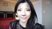 万圣节豹纹妆 -  Pennynini之FUN妆容系列