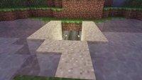 Minecraft我的世界水中隐藏门教程