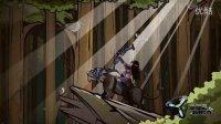 逗逼武士玩游戏片头动画-手游MG动画广告二维创意动画宣传片 | 杭州思漫奇