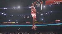 第3集【NBA2K15】扣篮大赛 全部动作表演秀 03,乔丹、科比、詹皇、魔兽大战 - 美国职业篮球 NBA 2K15 - 时间边界