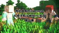 【Minecraft课堂】大橙子教小枫玩生存:第1天-这个老师感觉好厉害的样子。