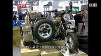 第十三届中国国际摩托车博览会  商家观摩银钢摩托车展台