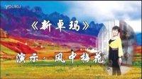 风中梅花广场舞系列:《新卓玛》             原来老师制作