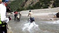 2014骑行川藏线318  泥石流涉水路游玩 然乌到波密