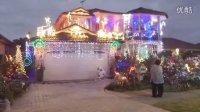 【雪妍拍客】带您走进澳大利亚悉尼的圣诞节 圣诞灯饰挂满整个家