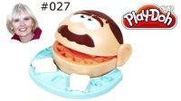 #027培乐多孩之宝 牙医玩具 橡皮泥 玩具妈妈 English 英语视频 亲子活动