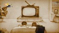 老古董电视机——仕玲沙画 成都沙画婚礼沙画会议沙画宴会沙画晚会沙画开业庆典沙画发布会沙画