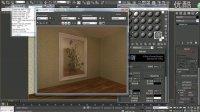 3dmax教程带花纹镜子表现方法 材质渲染教程 3dmax教程入门到精通