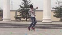 《天策轮滑自学教程 1 》 01.  自由式轮滑展示!