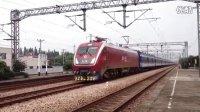 【2014.6.28】HXD1D0113牵引T281次通过长安镇站