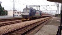 【2014.6.28】HXD3C0146牵引K123次通过长安镇站