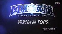 【风暴英雄-精彩时刻 TOP5】第一期---风暴小菜出品