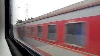 京广铁路大动脉3-过广东潖江口K4232次列车广州至郑州-驻马店游者