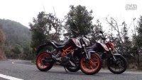 骑士网15年第6集:跑山小王子 KTM DUKE 200/DUKE 390摩托车 呆子测评