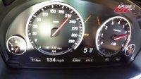 2015宝马BMW X6M(575ps,750nm) 0-210 km-h加速实录