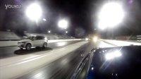 Nissan GT-R vs BMW X5M  1-4 英里加速赛