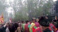 潜江市宗教局领导为庆祝灵山观新址典礼剪彩