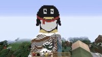 【初雷】★我的世界★Minecraft| 建造QQ企鹅|