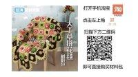【胖森李阿呆手工公开课】大丁草拼花毯视频教程