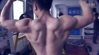 肌肉男汗撒健身房--大学生刘家郡健身训练视频-7