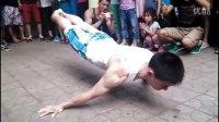 中国2014街头极限健身年度合集——向全世界展现出我中国的力量
