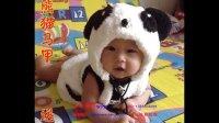 【小辛娜娜编织教程】第21集 绒绒线熊猫马甲绒绒线宝宝卡通衣服 小辛娜娜零基础编织视频教程