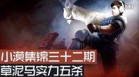 小漠集锦第三十二期:暴力草泥马实力五杀!