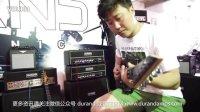 2015年北京国际乐器展 乐手试弹 杜兰德DURAND MG120TR(双琴ESP+FENDER)