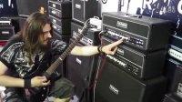 巴西金牌吉他手Silas试弹杜兰德DURAND MG120TR分体电吉他音箱 2015北京国际乐器展 演出