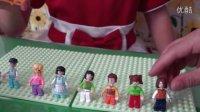 亲子游戏开箱神秘大奖拼装积木益智女孩拼插玩具梦幻城堡惊喜蛋健达奇趣蛋过家家玩具4