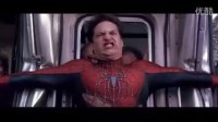 《蜘蛛侠2》经典拦火车片段