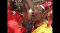 陕西农村结婚风俗-新娘和老公公亲嘴,这个太过了吧,看不下去了
