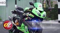 Go 机车【川崎跑车 Kawasaki Ninja ZX-6R】 台湾加菲猫摩托车重机车海外香港台湾新车试驾评测评(中文字幕)