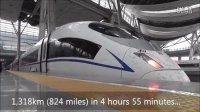 美国人拍视频体验中国高铁:外国人震惊了