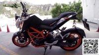 KTM DUKE390 真正的橙色激情  MOTO小峰