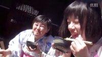 惊奇日本:夏日美女与流水素面