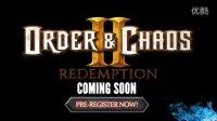 Gameloft史诗MMORPG续作《混沌与秩序2:救赎》首部宣传片