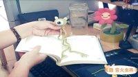 燕子手工:钩针玩偶之创意书签外星人。。。