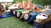 托马斯和他的朋友们#001# 托马斯小火车驶过怪物大桥