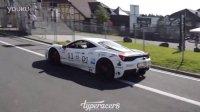 凶猛声浪法拉利 458 Speciale 改装Fi Exhaust 排气管甩尾!!!