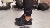 Adidas Yeezy 350 Boost Pirate Black 全黑 上脚欣赏