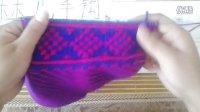 林儿手钩坊——中帮棉鞋中间花样的织法