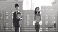 【Commedia】第85届奥斯卡最佳动画短片《纸人》,一切从浪漫邂逅开始