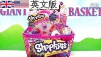 Shopkins 惊喜蛋 surprise egg 盲袋 blind bag 培乐多彩泥 橡皮泥 play doh