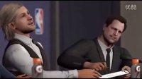 第3集《NBA2K16》MC辉煌生涯连续剧03(主角TimeRim):新生季四场比赛、NBA选秀日!四场比赛( 首战、中期测试、锦标赛调整、全国冠军)时间边界