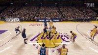 【布鲁】NBA2K16生涯模式:湖人首秀!10助攻0失误!给科比传球(四)