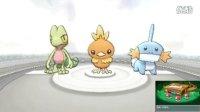 【屌德斯解说】 口袋妖怪蓝宝石3DS复刻版 第1期 踏上训练师之路!
