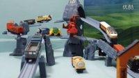 托马斯小火车 轨道玩具 托马斯铁路桥探险套装