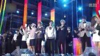 韩国亚洲音乐节 演唱会官方版 151023 EXO GOT7 BTS B1A4  红色天鹅绒 防弹少年团