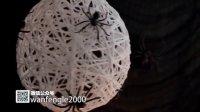 可怕的万圣节蜘蛛灯,恶魔手套,你敢DIY吗?